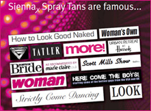 Sienna Spray Tan famous